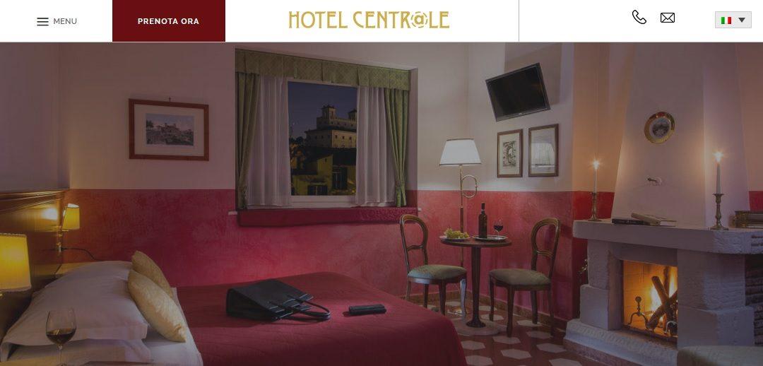 Il rifacimento del sito di HOTEL CENTRALE: più informazioni ed una navigazione più semplice