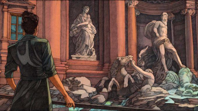 Rome by Miles Hyman, una visione inedita della città