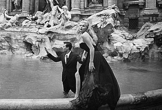Dal nostro hotel di via Laurina, percorrendo via del Corso fino alla fontana di Trevi, anzi ai suoi sotterranei…