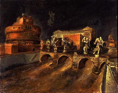 """Una pittura tutta romana: la """"Scuola Romana"""", detta anche """"Scuola di via Cavour"""", anni '30"""