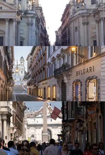 Al centro di Roma: le vie dello shopping