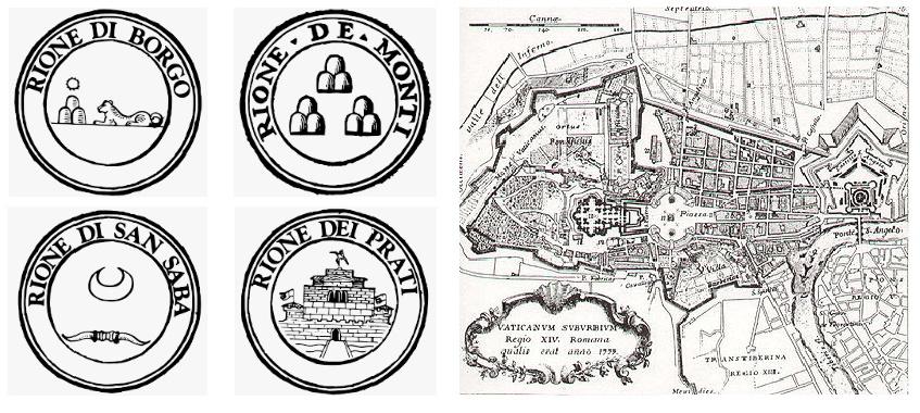 """Visitare Roma: il rione """"Borgo"""""""