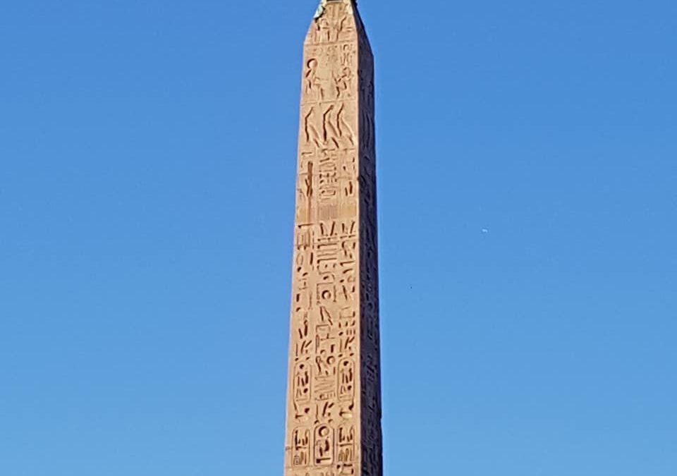 Roma: obelisco Flaminio di piazza del Popolo, a pochi metri da Hotel Centrale Roma
