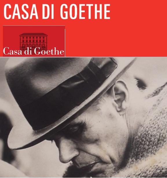Roma a Casa Goethe: Joseph Beuys, stesso amore per la città di mille altri intellettuali…