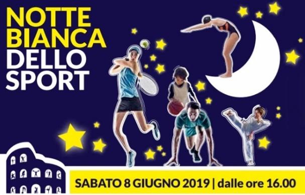 Notte Bianca 2019 dello Sport a Roma: l'8 giugno si festeggia fino a notte inoltrata