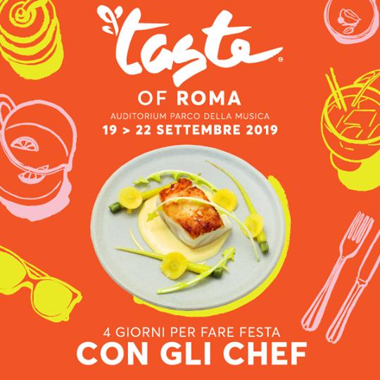 """Roma al centro di """"TASTE 2019"""": un settembre a tutto gusto"""