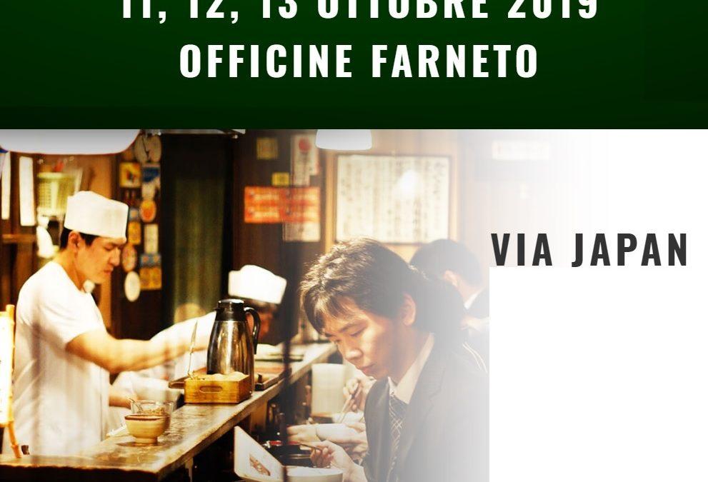 Roma incontra il Giappone con lo Street Food del Sol Levante