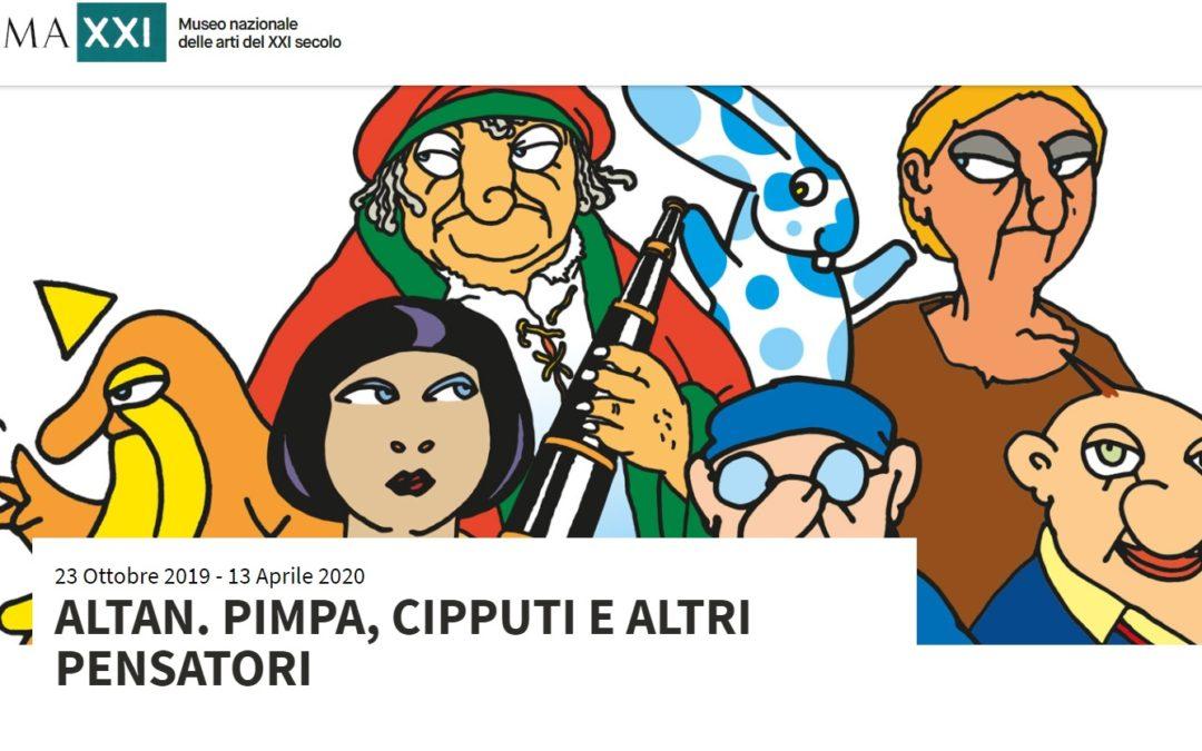 Nel centro di Roma il cuore batte per Altan